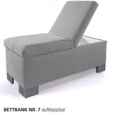 Oschmann Zubehör Bettbänke Nr. 7