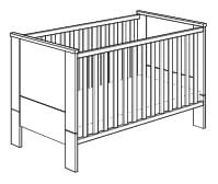 Paidi Henrik Kinderbett mit Airwell-Comfort-Rost