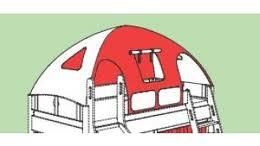 Paidi Zubehör Zelt-Dach