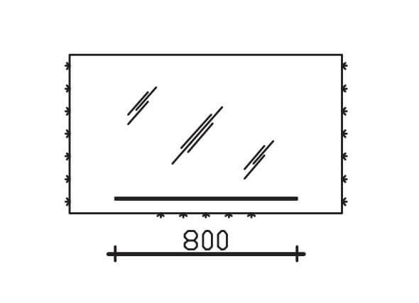 Pelipal Solitaire Neutrale Flächenspiegel Neutrale Funktionsspiegel S16