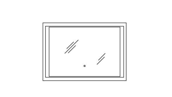 Pelipal Solitaire Neutrale Flächenspiegel Neutrale Alu-Spiegel S17-FSP 14