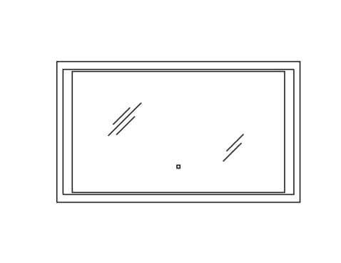 Pelipal Solitaire Neutrale Flächenspiegel Neutrale Alu-Spiegel S17-FSP 20