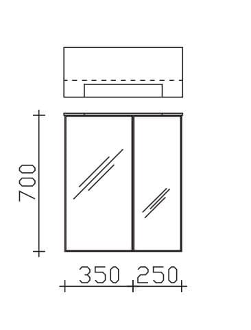 Pelipal Solitaire Solitaire 6110 Überbau