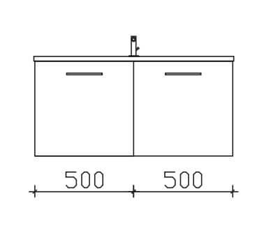 Pelipal Solitaire 6110 Unterschränke