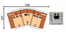 Polinova 64590065 CLVL1L-MEV-1RCLVR