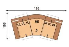 Polinova 64590560 CLVL1L-ME-1RCLVR