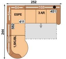 Polipol 64390086 1,5KUBL-ESPE-3AR
