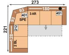 Polipol 64390003 2BL-SPE-3AR