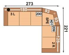 Polipol 64390003 3L-SPE-2R