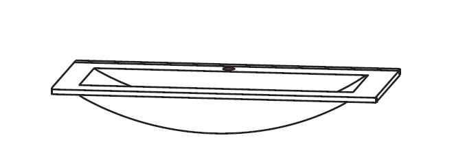Puris Cool line Glas-Möbelwaschtische