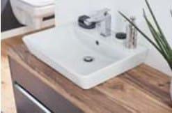 Puris Unique Keramik-Aufsatzwaschtische