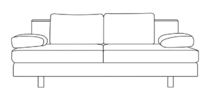 Restyl Rhonda Liegefläche 150x200cm