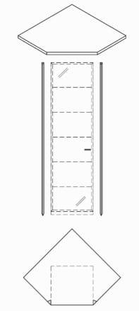 Rietberger Möbelwerke Wohnmöbel Manhattan Korpuselemente
