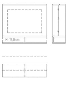 Rietberger Möbelwerke Wohnmöbel Lavita Funktionszwischenbauelemente