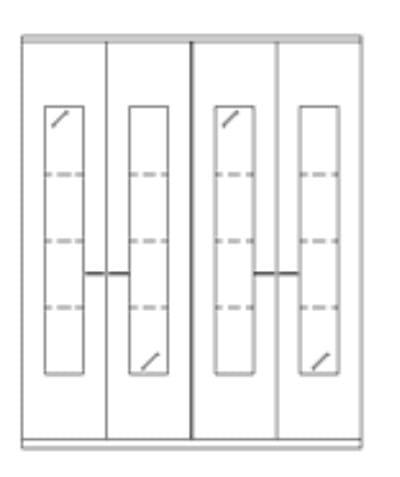 Rietberger Möbelwerke Wohnmöbel Lavita Vitrinen