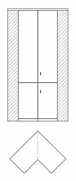 Rietberger Möbelwerke Wohnmöbel Opus Kleiderschränke