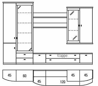 Rietberger Möbelwerke Wohnmöbel Opus Vorschläge