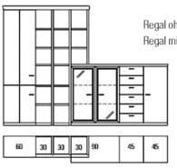 Rietberger Möbelwerke Wohnmöbel Dacapo Vorschläge