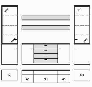 Rietberger Möbelwerke Wohnmöbel Manhattan Vorschläge