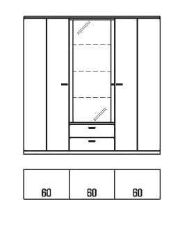 Rietberger Möbelwerke Wohnmöbel Allegro Highboards