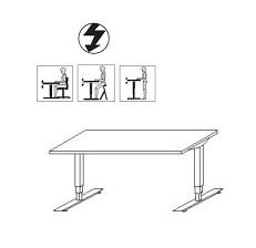 Röhr Büro 184 Objekt Plus Schreibtische elektr. Höhenverstellbar
