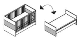 Röhr Baby Pixxel Bett