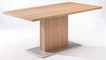 Schösswender Massivline and More - massiv/teilmassiv Einzeltische Säulentisch