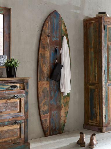 Sit Riverboat Surfboard-Garderobenpaneel