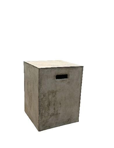 Sit Cement Hocker