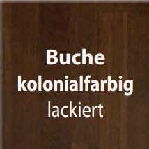 Standard-Furniture Tische EmanuelaXL Buche kolonialfarbig lackiert