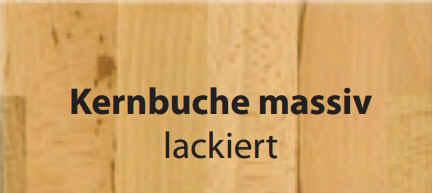 Standard-Furniture Tische EmanuelaXL Kernbuche massiv lackiert