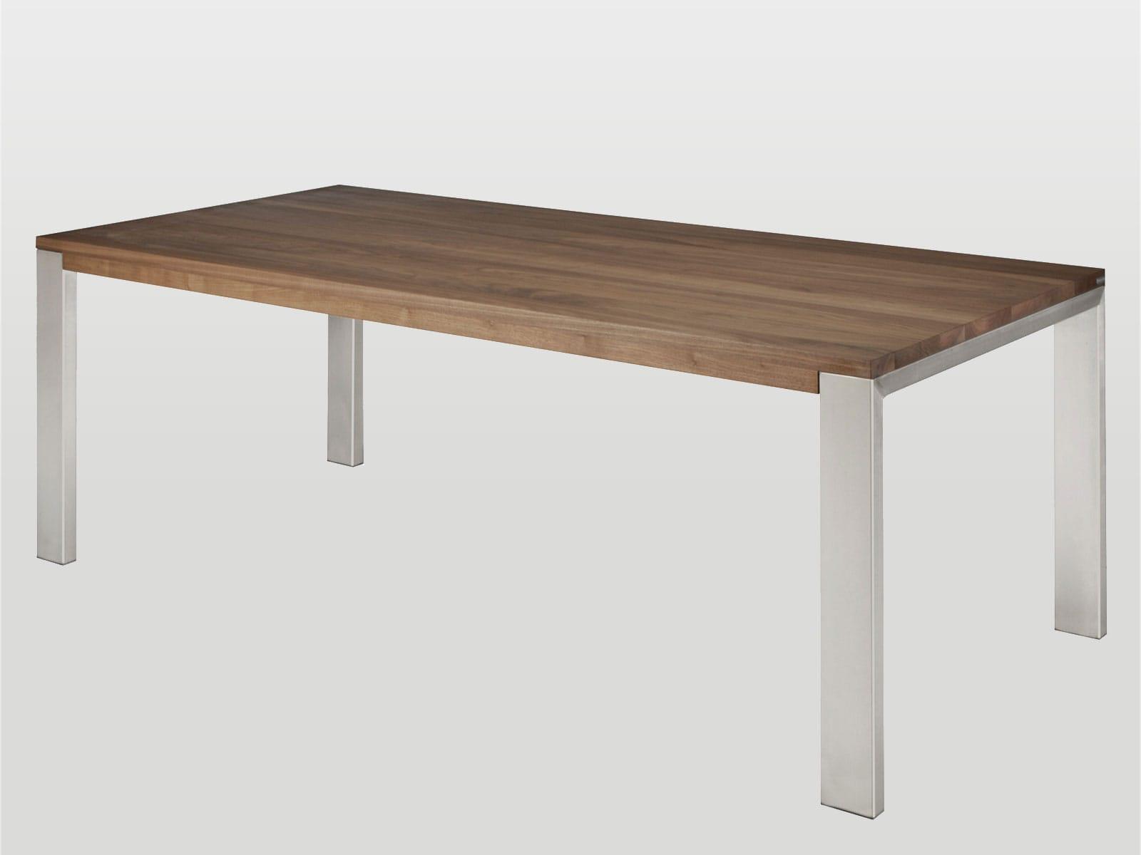 Bert Plantagie Tische Bridge Tisch mit Holzplatte