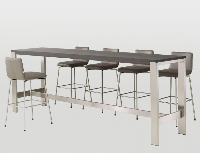 Bert Plantagie Tische Bridge Bartisch mit Holzplatte