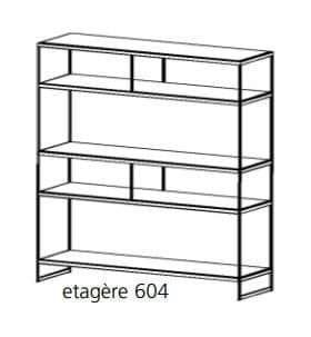 Bert Plantagie Schrankmöbel Luna Etagere freistehend 604
