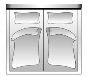 Candy Betten Flat Fuß- und Seiteinteil