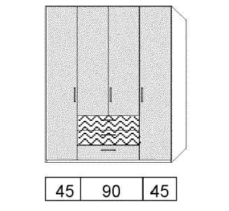 Disselkamp Cadiz Kleiderschranksystem 2