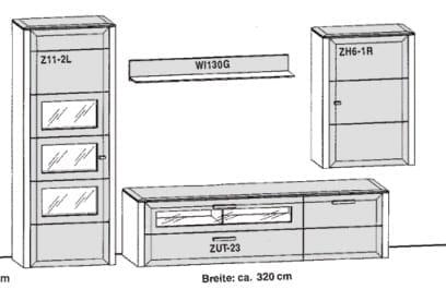 Gwinner Solid Wandkombinationen SL1