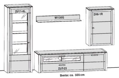Gwinner Solid Wandkombinationen SL201