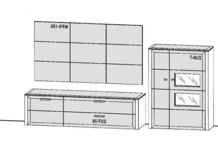 Gwinner Solid Wandkombinationen SL28-SV