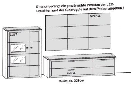 Gwinner Solid Wandkombinationen SL28
