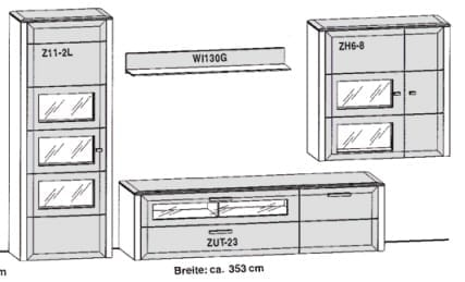 Gwinner Solid Wandkombinationen SL3