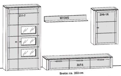 Gwinner Solid Wandkombinationen SL36