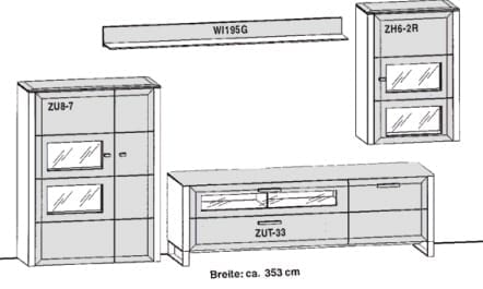 Gwinner Solid Wandkombinationen SL5