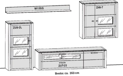 Gwinner Solid Wandkombinationen SL6