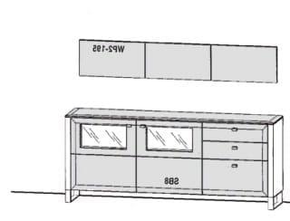 Gwinner Solid Wandkombinationen SL62-SV
