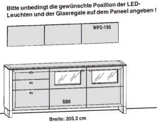 Gwinner Solid Wandkombinationen SL62