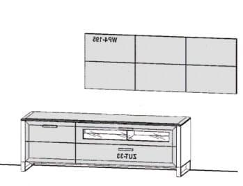 Gwinner Solid Wandkombinationen SL63-SV
