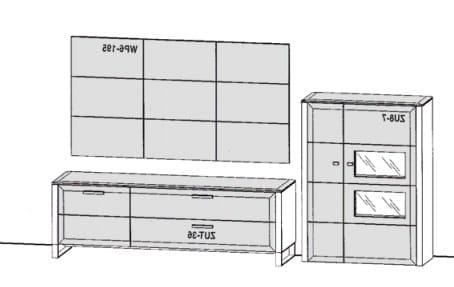 Gwinner Solid Wandkombinationen SL8-SV