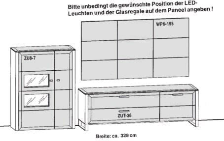 Gwinner Solid Wandkombinationen SL8