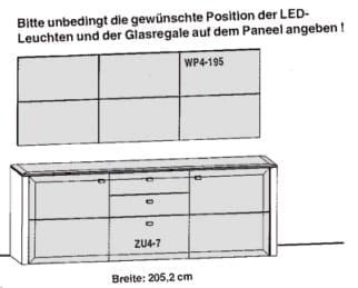 Gwinner Solid Wandkombinationen SL81